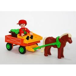 Playmobil Carromato Con...