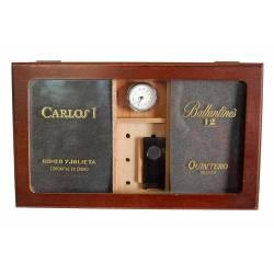 Caja de puros de madera de...