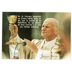 Estampa Juan Pablo II....