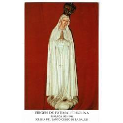Estampa Virgen de Fátima...