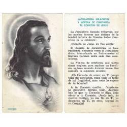 Estampa Corazón de Jesús 1968