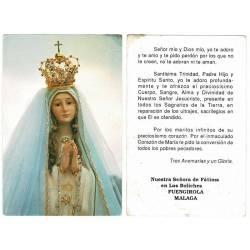 Estampa Nuestra Señora de...