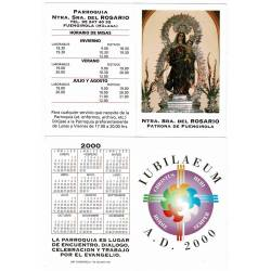 Calendario y horario de...