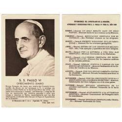 Estampa S. S. Paulo VI....