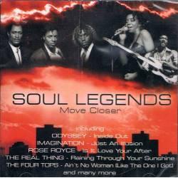 Soul Legends - Move Closer. CD