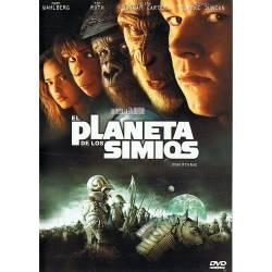 El planeta de los simios. DVD