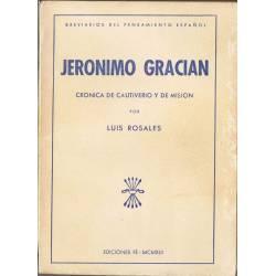 Jerónimo Gracian. Crónica...