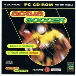 Actua Soccer. Juego PC