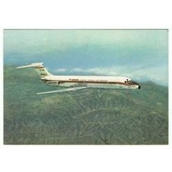 Postal avión Jet Douglas...