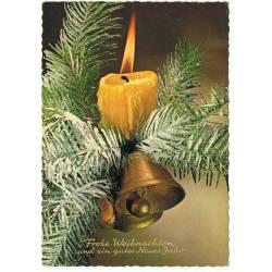 Postal Navidad. Letras...