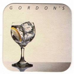 Posavasos Gordon's. Años 80
