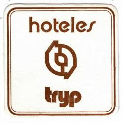 Posavasos Hoteles Tryp....