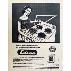 Publicidad Cocinas Edesa....
