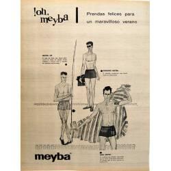Publicidad Bañadores Meyba....