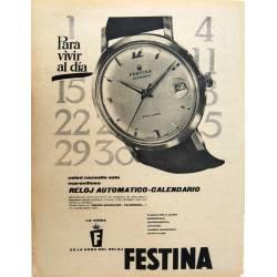 Publicidad Reloj Festina....