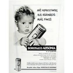 Publicidad Borotalco...