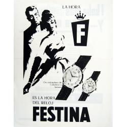 Publicidad Relojes Festina....