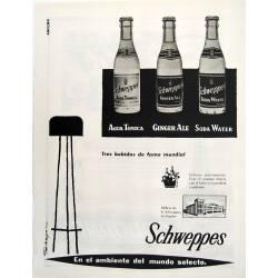 Publicidad Schweppes....