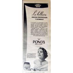 Publicidad Cremas Ponds....