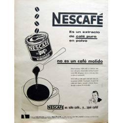 Publicidad Nescafé....
