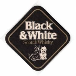 Posavasos Black & White...