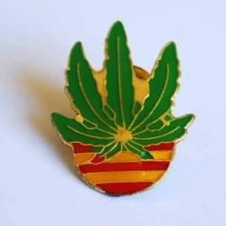 Pin María Bandera Cataluña