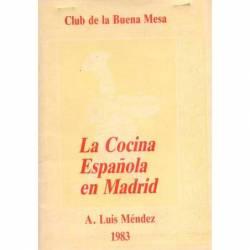 La Cocina Española en Madrid