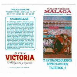 Plaza de Toros Málaga 14-15...