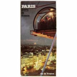 Mapa callejero de París....