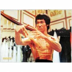 Póster de Bruce Lee de la...