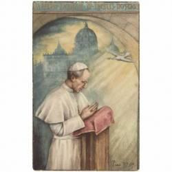 Estampa Papa Pio XII con...