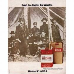 Publicidad tabaco Winston...