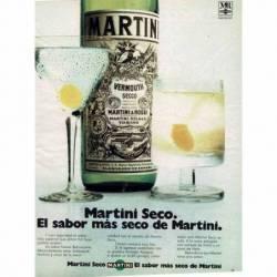 Publicidad Martini Seco...