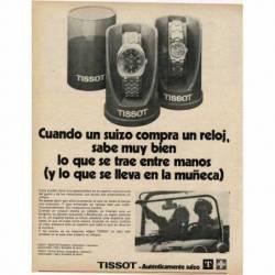 Publicidad Reloj Tissot...