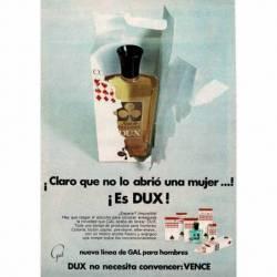 Publicidad Dux, nueva línea...