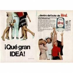 Publicidad doble Leche...