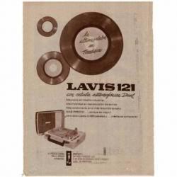 Publicidad Tocadiscos Lavis...