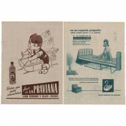 Publicidad Anís La Praviana...