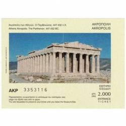Entrada Ticket Akropolis,...