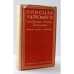 Concilio Vaticano II....