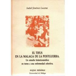 El tifus en la Málaga de la...