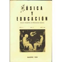 Música y Educación. Revista...