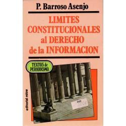 Límites constitucionales al...