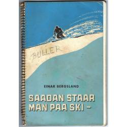 Saadan Staar Man Paa Ski