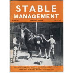 Stable Management Aug/Sept...