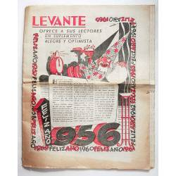 Periódico Levante, 1 de...