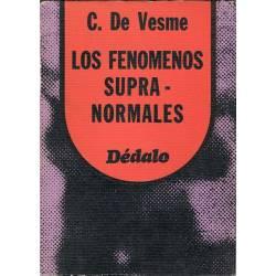 Los fenómenos supranormales