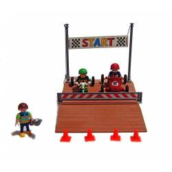 Playmobil Carreras de Carts...